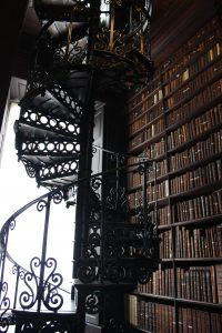 Trinity College Library, Long Room, Dublin, Ireland