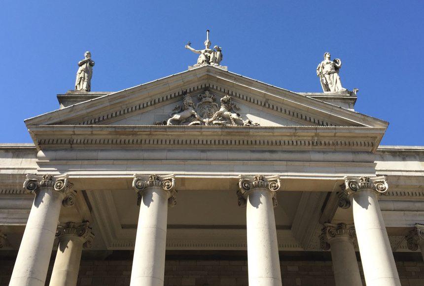 Houses of Parliament Dublin Ireland