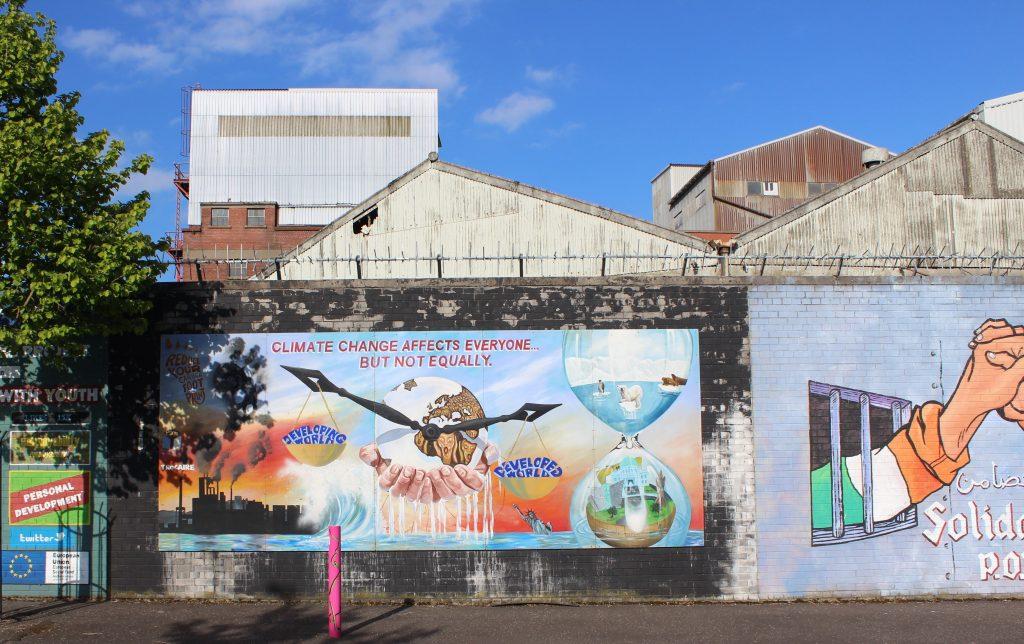 Belfast murals Northern Ireland