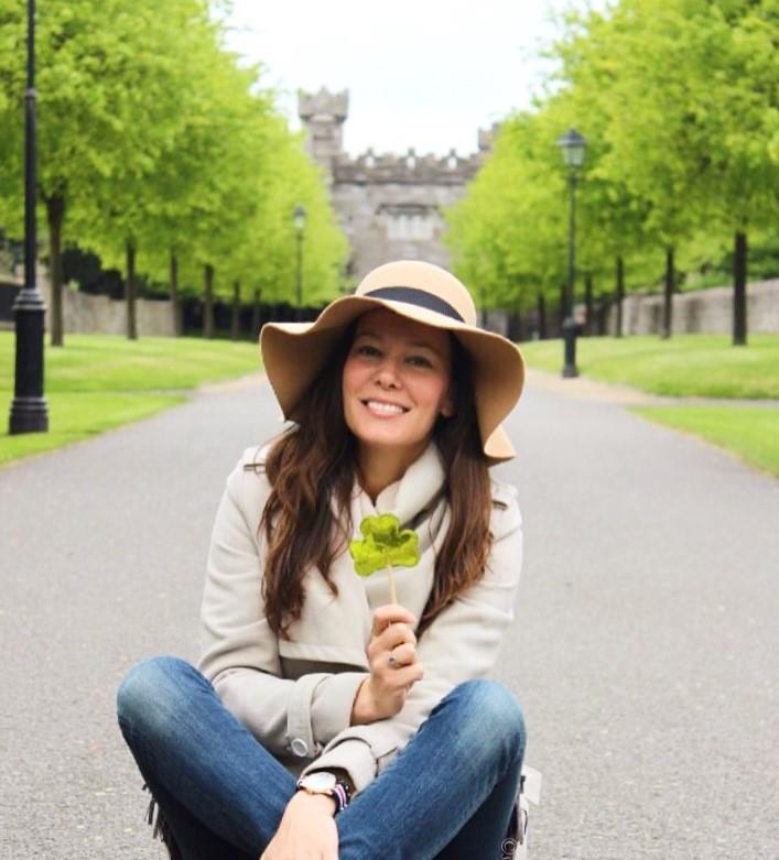 Irish Shamrock Dublin Ireland garden
