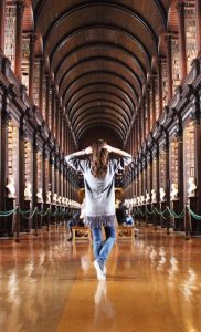 Beautiful Long Room Trinity College Library