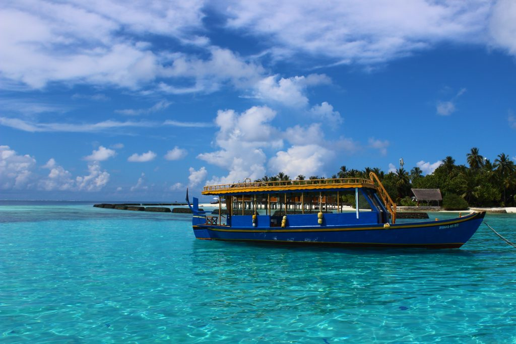 Maldives blue water ocean amazing wonderful