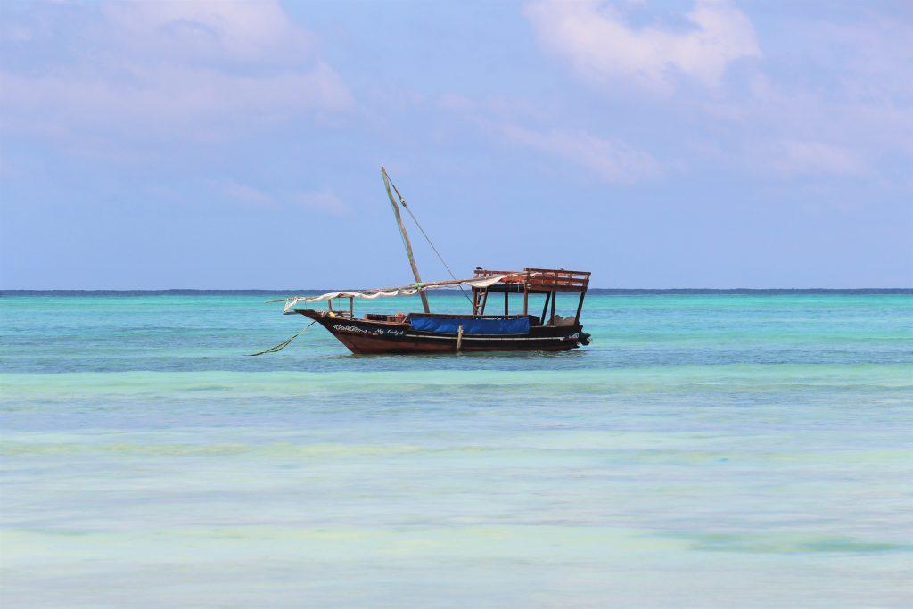 Zanzibar sandy beaches offering the warmest waters I have swam in Tanzania