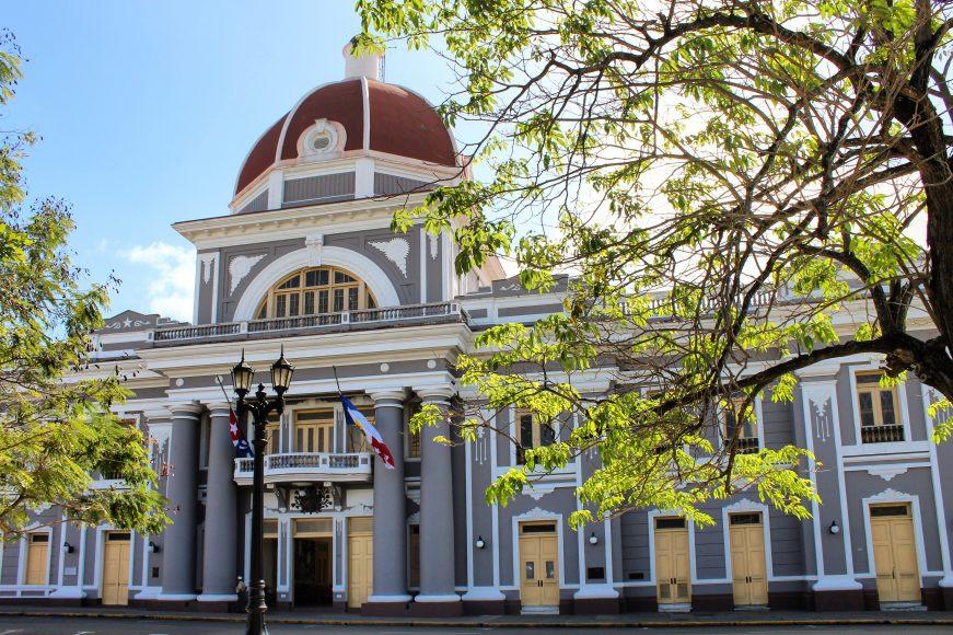 Plaza Jose Marti Cuba Cienfuegos