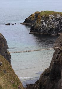 Carrick-a-Rede Rope Bridge Ireland travel