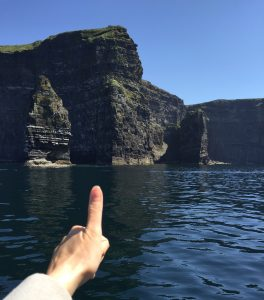 Cliffs of Moher boat trip