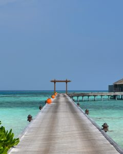 Path to paradise Maldives
