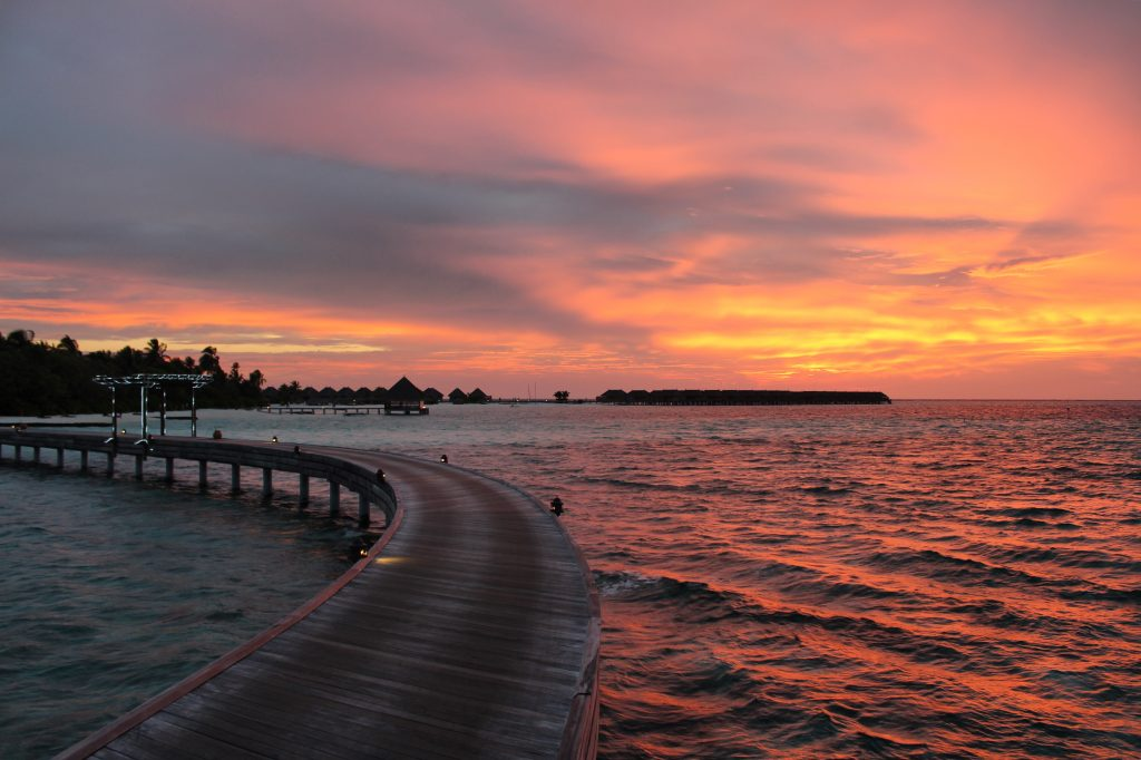 Maldives Breathtaking sunsets, romance at its best