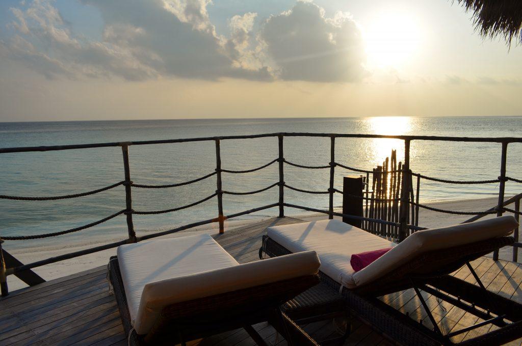 Maldives the best massage views