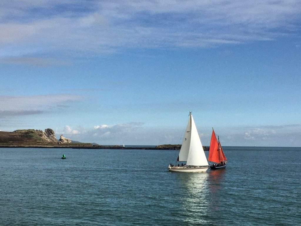 Lovely setting for beach walks Howth