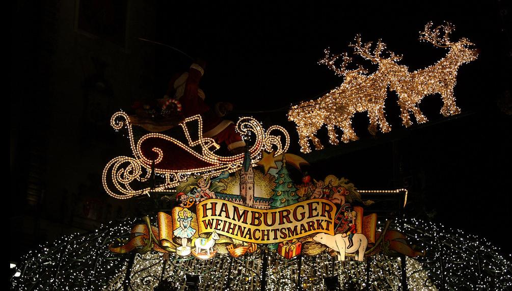 Hamburg Weihnachtsmarkt - Christmas market