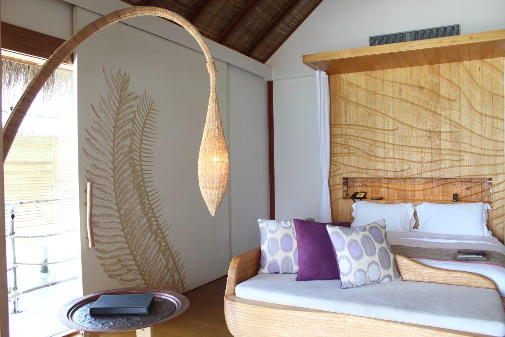 Superior water villa Constance Moofushi Maldives
