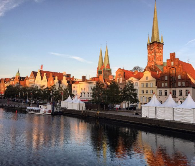 The beautiful gothic city of Lübeck is dressing up for Christmas Germany