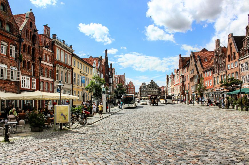Germany Hanseatic city of Lüneburg - a lovely historic setting with beautiful architecture