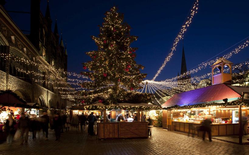 Weihnachtsmarkt, Hansestadt Luebeck, UNESCO Lübeck