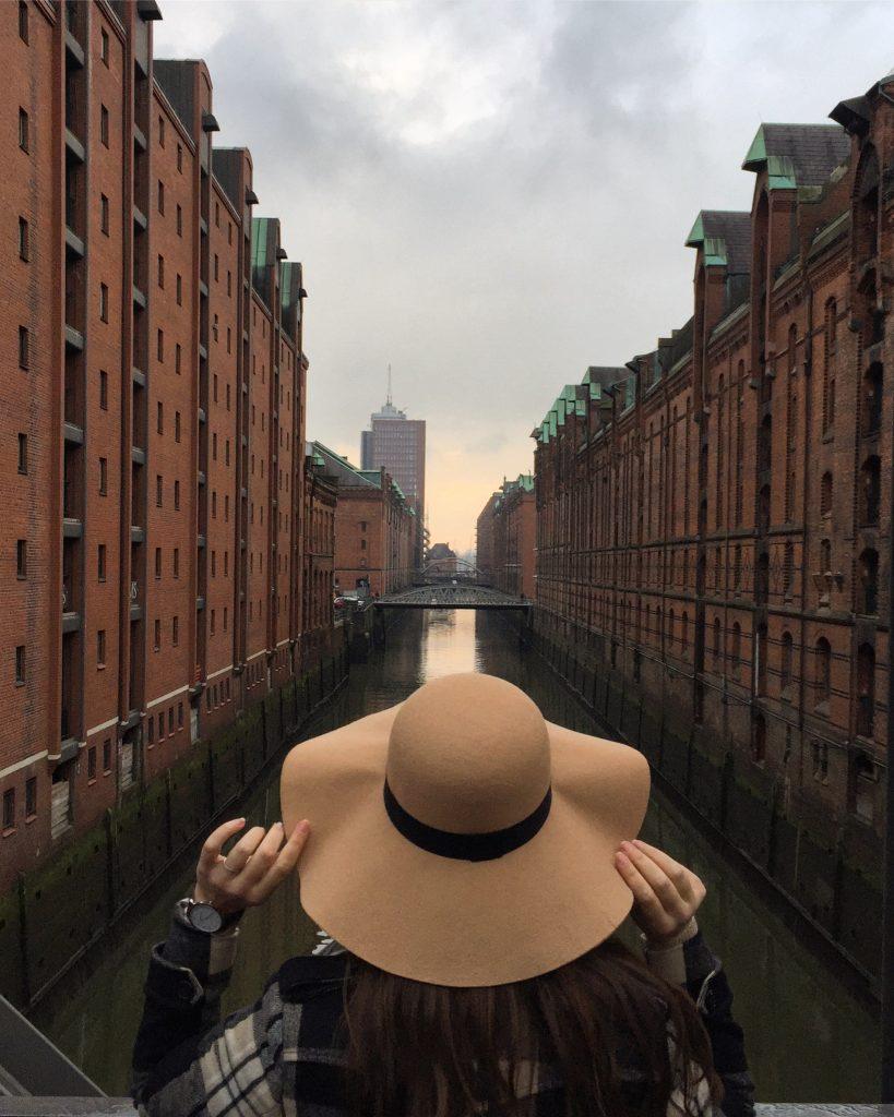 Speicherstad Hamburg hat watch classy travelling