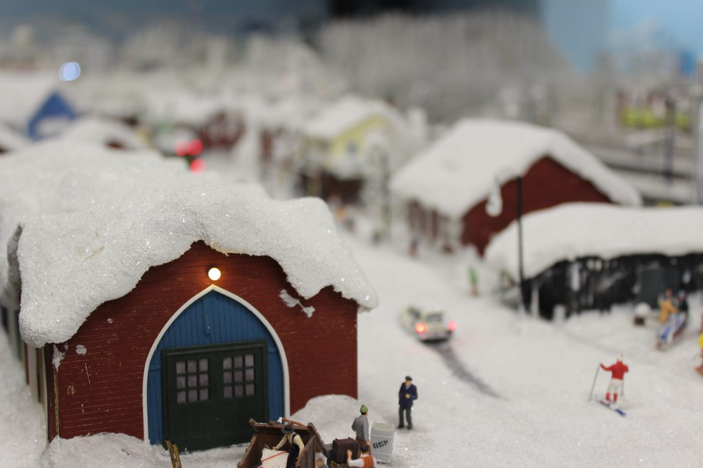 Feel the cold? One of the Miniature Wunderland settings Hamburg Germany