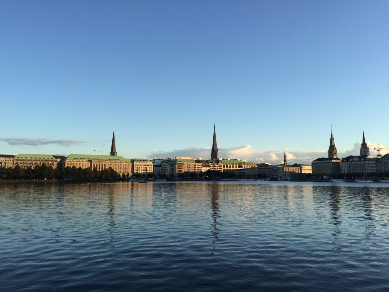 Northe Hamburg hamburg visiting the aristocratic venice of the