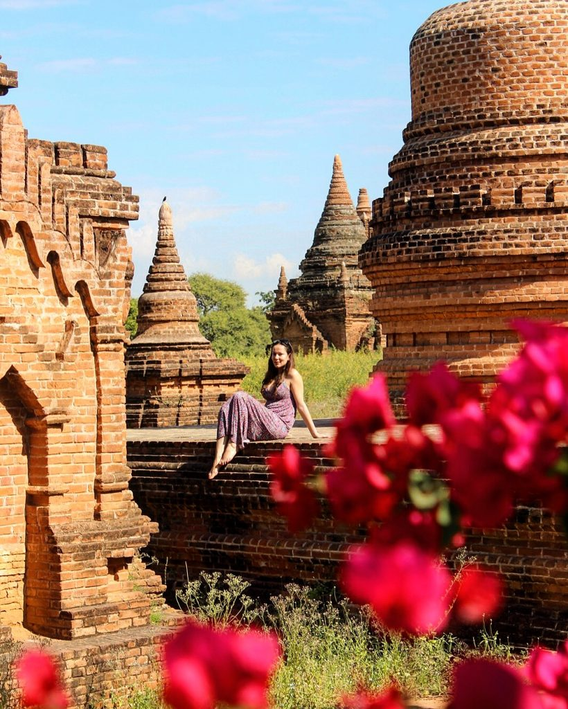 Wonderfully lost among Bagan's thousands of temples and Pagodas